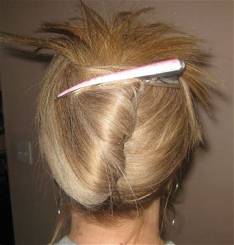 easy updos using claw clips on long hair my bumpy middle aged long hair journey hairstyle how to