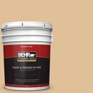 behr premium plus 5 gal 300e 3 clair de lune flat exterior paint 440005 the home depot