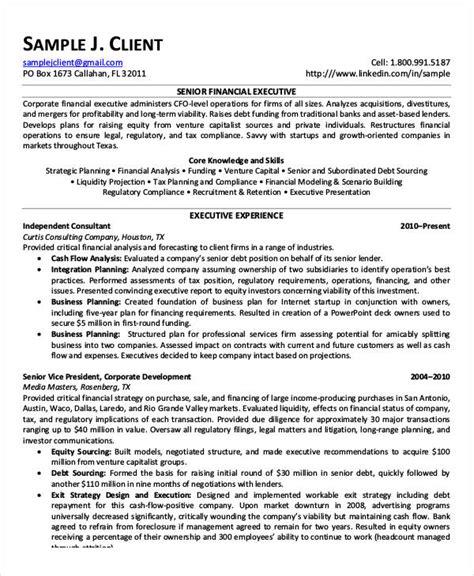 executive resume exles pdf 20 printable executive resume templates pdf doc free premium templates