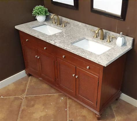 Menards Vanity Tops Granite 61 Quot X 22 Quot Gray Forest Granite Vanity Top 2 Rectangle