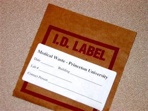 autoclaving the iv fluid bags biohazard waste disposal