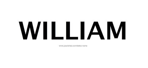 william tattoo designs william name designs