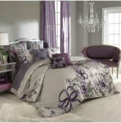 wall color purple curtains bedspread bedroom