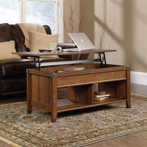 sauder carson forge lift top coffee table sauder carson forge lift top coffee table