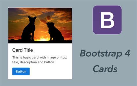 tutorial bootstrap 4 bootstrap 4 cards tutorial 187 webnots