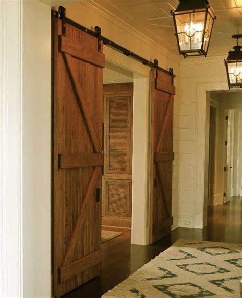 Sliding Barn Doors Interior Ideas Barn Door Style Interior Doors Sliding Design