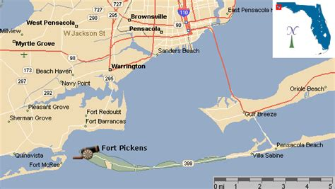 map fort florida ftpickens gif