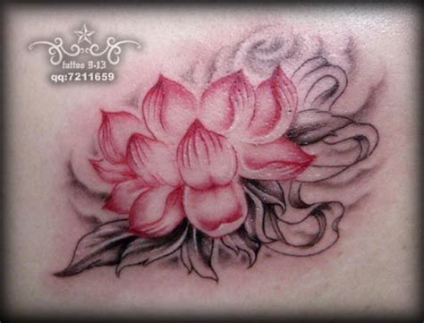 lotus tattoo inspiration lotus tattoo grey wash with pink tattoos pinterest