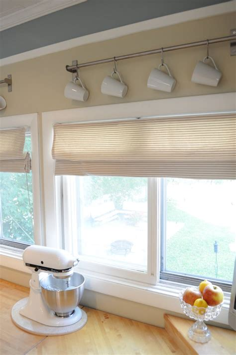 Valances For Kitchen Windows Mini Blinds To Roman Kitchen Window Curtain Ideas