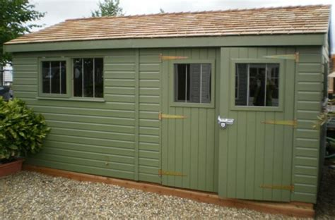 12 x 30 superior shed with valtti paint plan free delivery installation ref 565