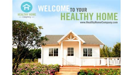 healthy home company presentation