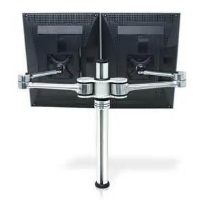 bildschirmhalterung schreibtisch atdec vf at d dual display desk mount up to