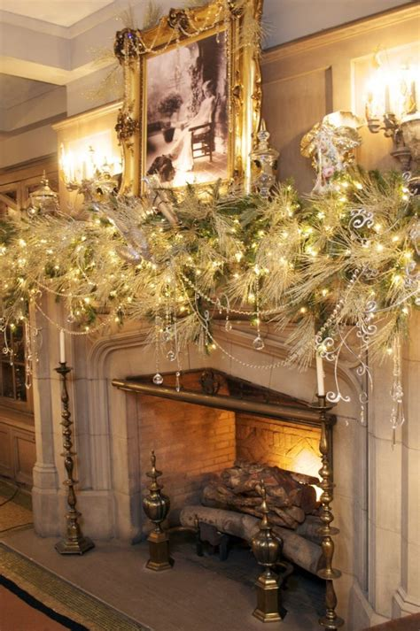 vogue mos beautiful house at christmas 35 beautiful mantels style estate