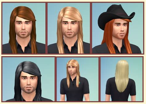 long hairstyles for men sims 4 long straight hair for males at birksches sims blog 187 sims