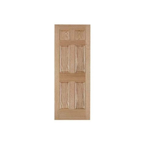 home depot interior slab doors 30 in x 80 in 6 panel solid core composite interior door
