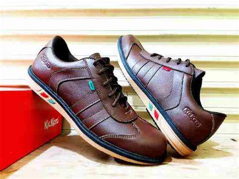 Sepatu Kickers R O Brown jual beli sepatu pria kickers casual sepatu pria kulit