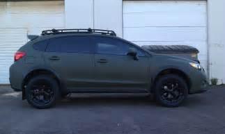 Subaru Crosstrek Roof Basket Crosstrek Custom Roof Rack Wheels Roof