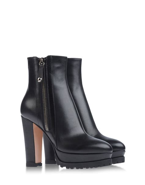 ankle boots black gianvito ankle boots in black lyst