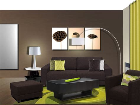 Home Decoration Pieces by Deco Salon Idee Couleur