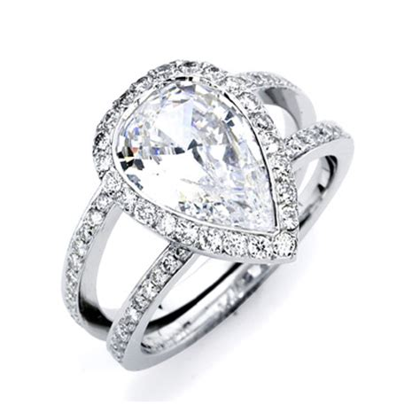 the most beautiful wedding rings wedding rings pear shaped