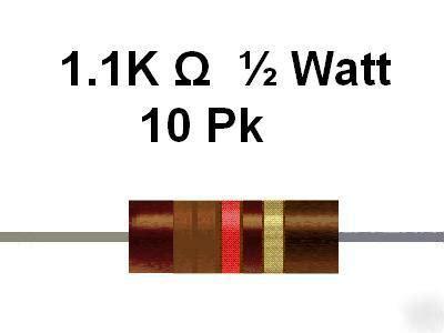 resistor ukuran 1k 1 2watt resistor ukuran 1k 1 2watt 28 images 1 4 watt 1 metal xicon resistors mammoth electronics e