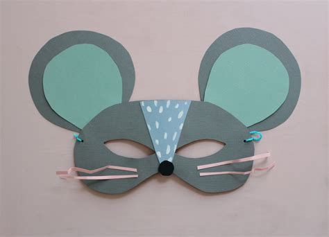 diy easy mask diy paper cat and mouse masks mermag bloglovin