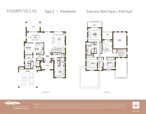 arabian ranches floor plans arabian ranches yasmin floor plans