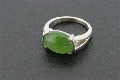 jade ring in sterling silver 480 jade carver
