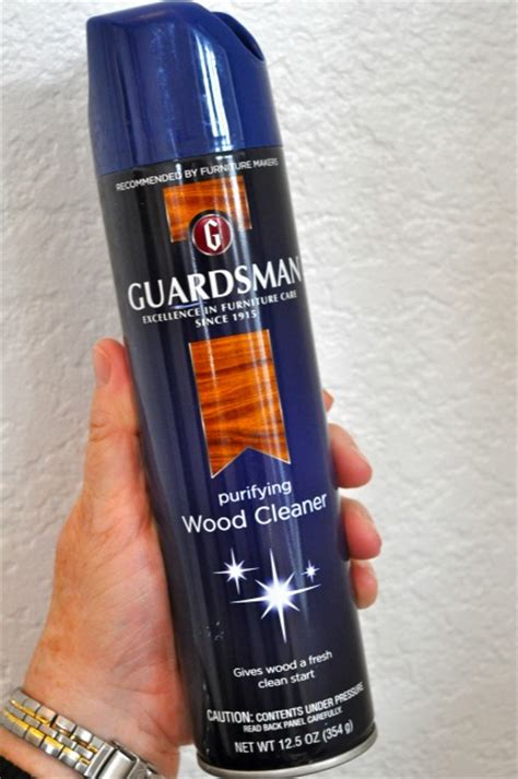 Guardsman Furniture Cleaner by Guardsman Purifying Furniture Wood Cleaner Simple Sojourns