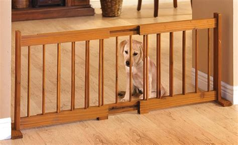 expandable dog gates for the house 58 expandable pet gate adjustable wood dog gates indoor