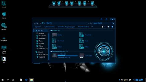 jarvis theme for windows 10 free download transform win10 to jarvis by hs1987 on deviantart
