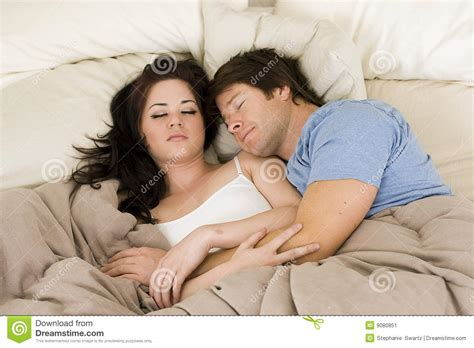 couple in bed couple in bed stock image image 9080851
