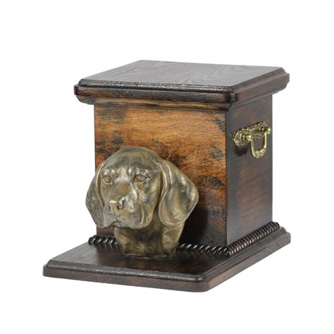 urns for dogs urn for dogs ashes with a standing statue beagle