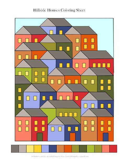 house pattern planning rustic hillside house quilt leslie unfinished