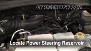 Jeep Liberty Power Steering Fluid Engine Light Is On 2008 2012 Jeep Liberty What To Do