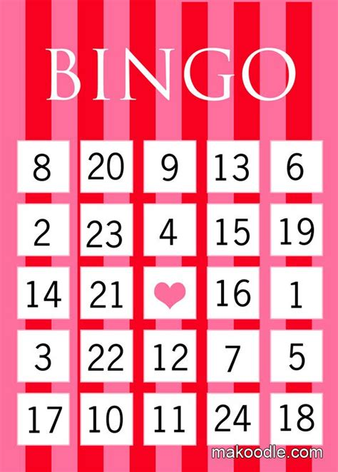 conversation hearts bingo cards template the 25 best bingo ideas on hearts