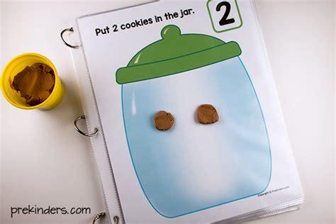 Playdough Math Mats by Cookie Jar Play Dough Math Mats Prekinders