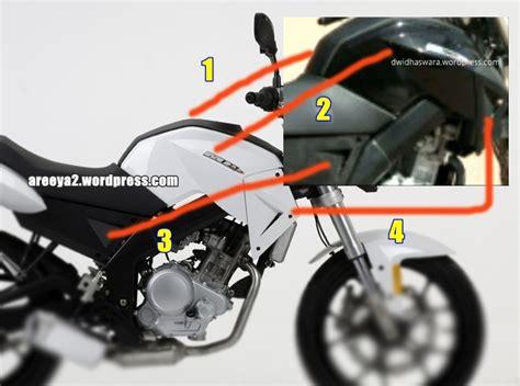 Tangpad Yamaha Byson yamaha new vixion 2012 cxrider