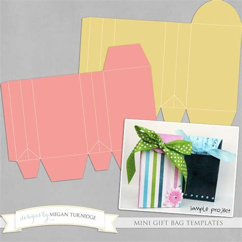 Gift Bag Cards For Baby Template by Free Gift Bag Templates Scrap Bo 238 Tes