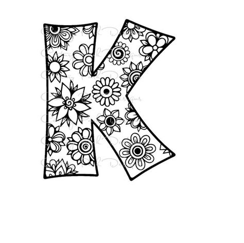coloring pages for adults letter k 27 best images about century park designs alphabet cut