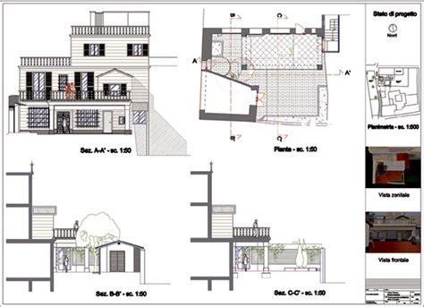 tavole progetto esecutivo foto tavola di progetto di officina d architettura e