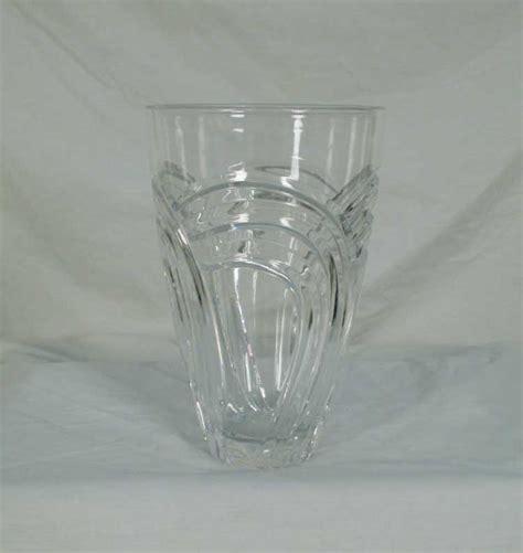 Miller Rogaska Vase by Miller Rogaska Maestro Pattern Cut 8 Inch Vase