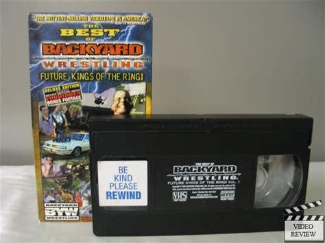backyard wrestling dvd backyard wrestling the best of deluxe edition vhs 689967100031 ebay