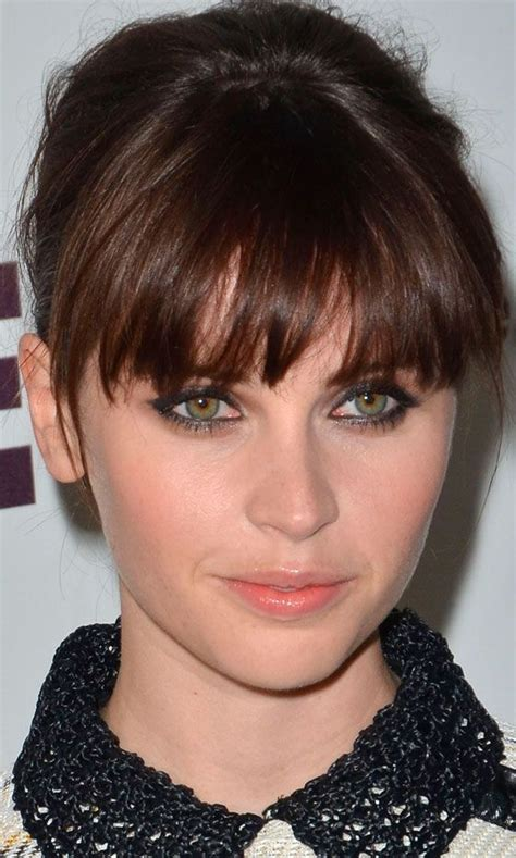 ladies choppy hairstyles with a fringe 25 best ideas about felicity jones on pinterest