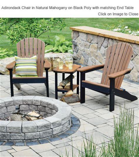 outdoor poly furniture outdoor poly furniture amish patc2400 comfo back
