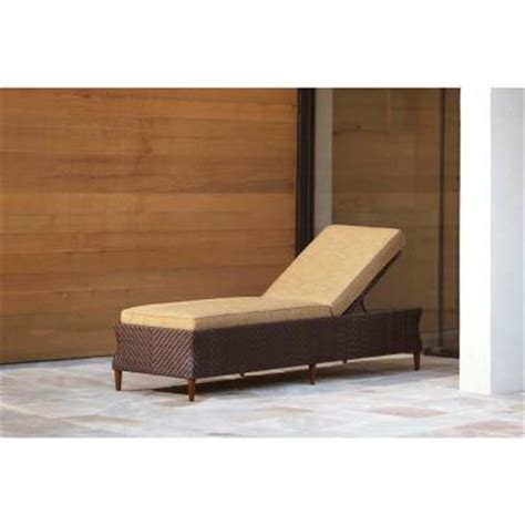 brown jordan chaise lounge brown jordan marquis patio chaise lounge in toffee stock