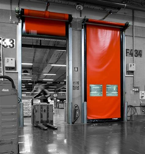 interior high speed roll up door dynaco d 501 compact