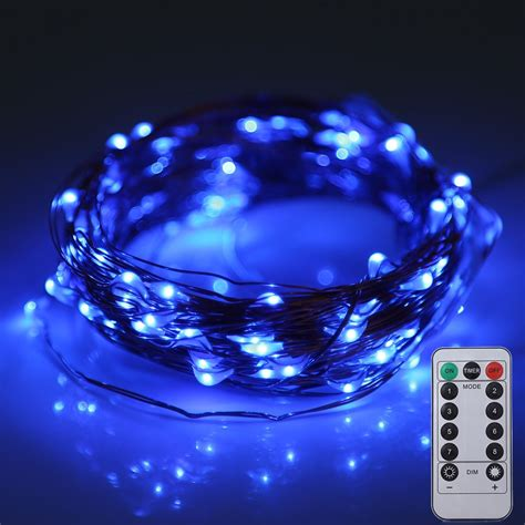 string lights with remote 10m 100 leds battery operated decorative string light with
