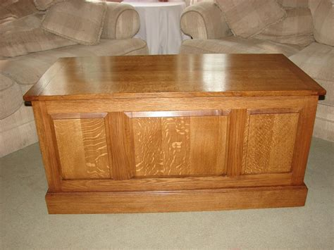 wooden blanket chest plans  woodworking