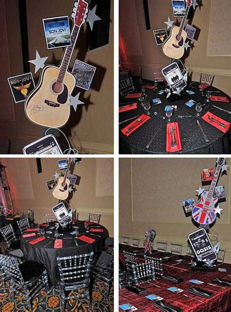 rock themed events 17 best images about guitars for parties on pinterest